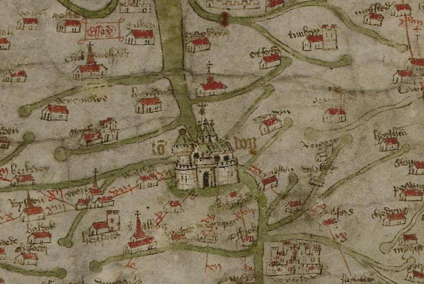 Die Gough Map Grossbritannien Im Spaten Mittelalter